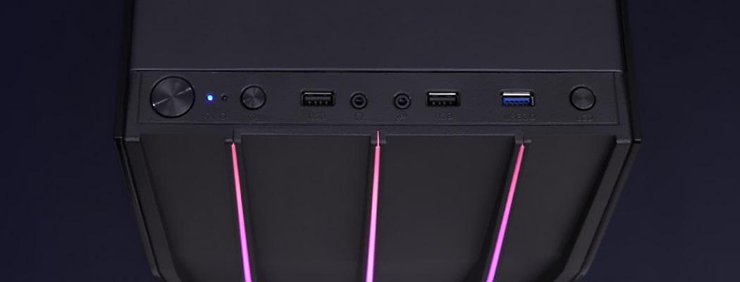 панель спереди USB кнопки