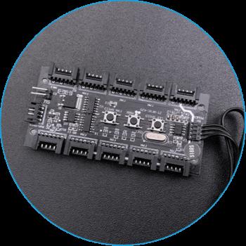 Хаб На 10 Портов Для Управления RGB-Подсветкой