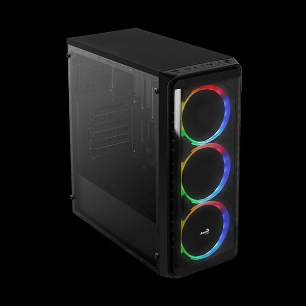 AeroCool SI-5200 RGB Tempered Glass цена