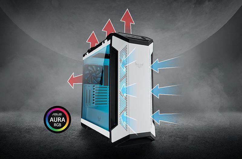 Вентиляторы и подсветка Aura