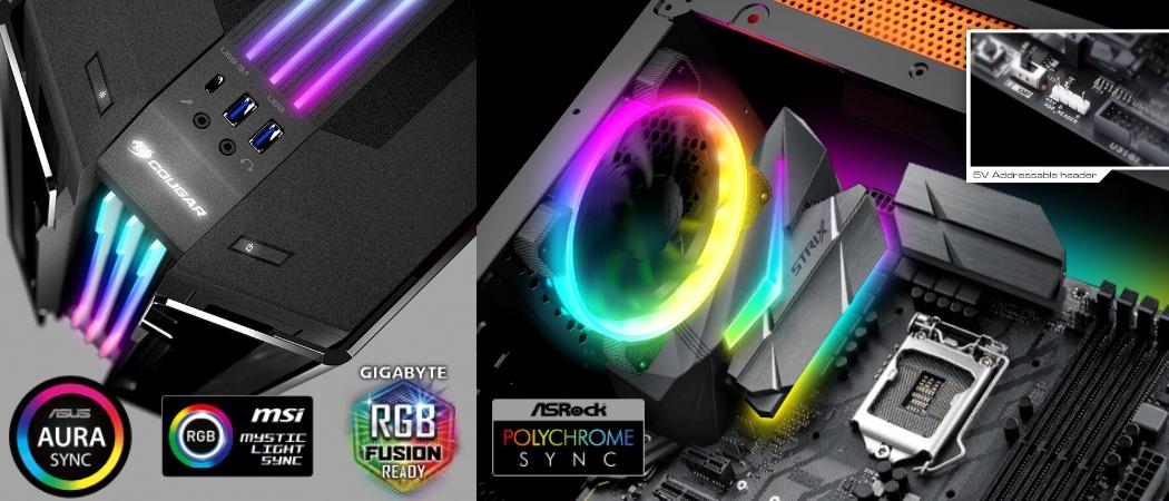 RGB подсветка поддержка