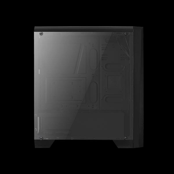 AeroCool Cylon Tempered Glass RGB Black цена