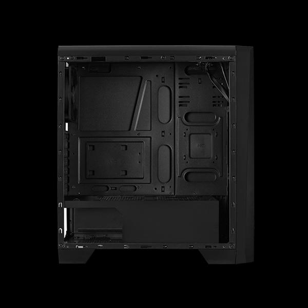 AeroCool Cylon Tempered Glass RGB Black описание