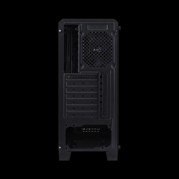 AeroCool Cylon Tempered Glass RGB Black фото