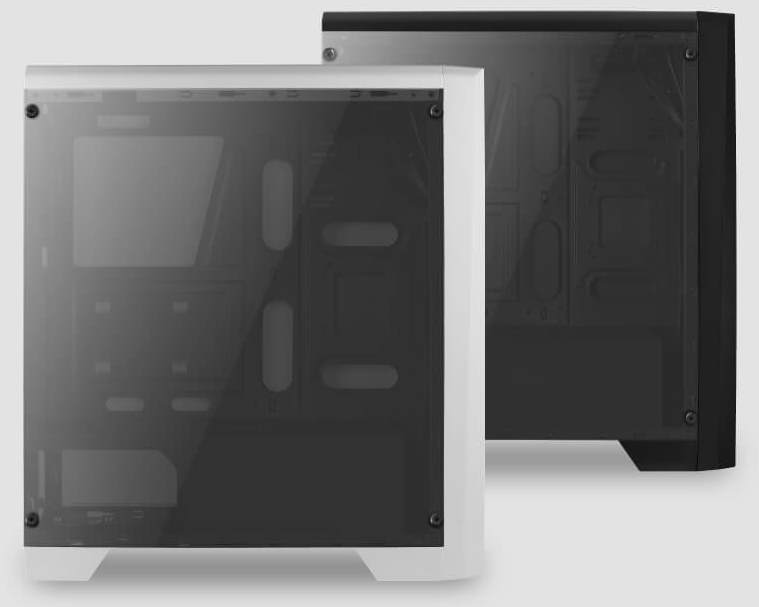 Боковая панель из закалённого стекла