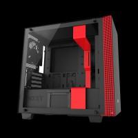 NZXT H400 Black/Red (CA-H400B-BR)