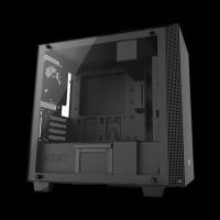 NZXT H400i micro-ATX Case Matte Black (CA-H400W-BB)