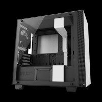 NZXT H400i micro-ATX Case Matte White (CA-H400W-BW)