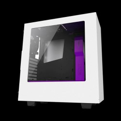 NZXT S340 Mid Tower Chassis White/Purple (CA-S340W-W3)