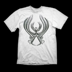 Assassins Creed T-Shirt Hashshashin Crest Size L