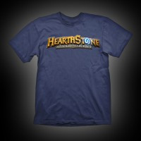 Hearthstone T-Shirt Logo Navy XL