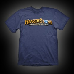 Hearthstone T-Shirt Logo Navy XL