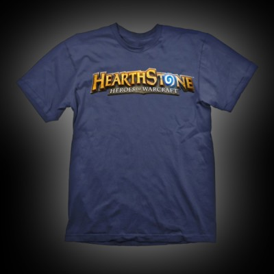 Hearthstone T-Shirt Logo Navy XL купить