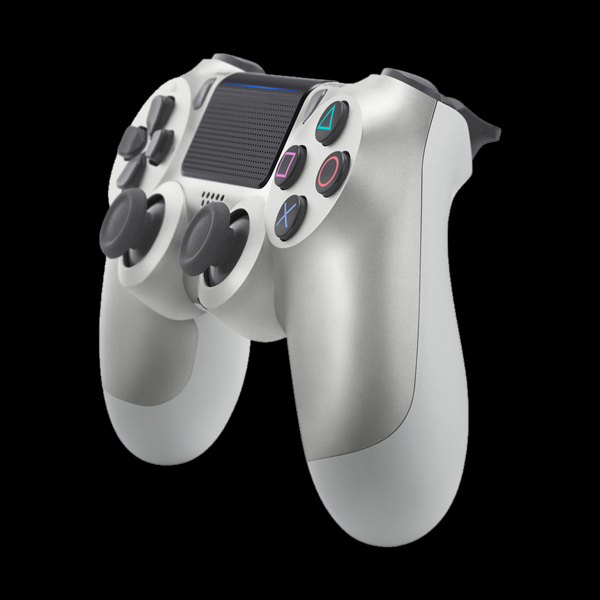 PlayStation 4 Dualshock 4 v2 Wireless Controller Silver цена