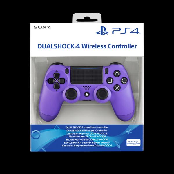 PlayStation 4 Dualshock 4 v2 Wireless Controller Electric Purple фото
