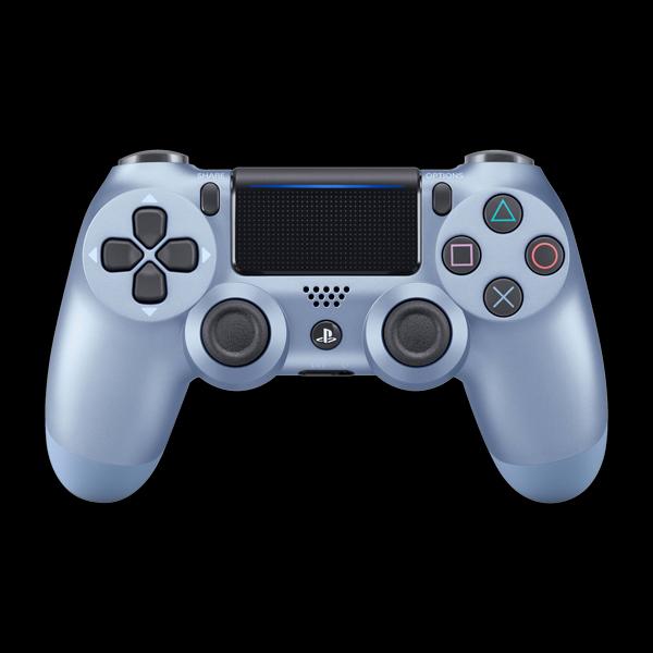PlayStation 4 Dualshock 4 v2 Wireless Controller Titanium Blue цена