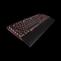 Corsair K70 LUX Red Led Cherry MX Brown CH-9101022-NA)