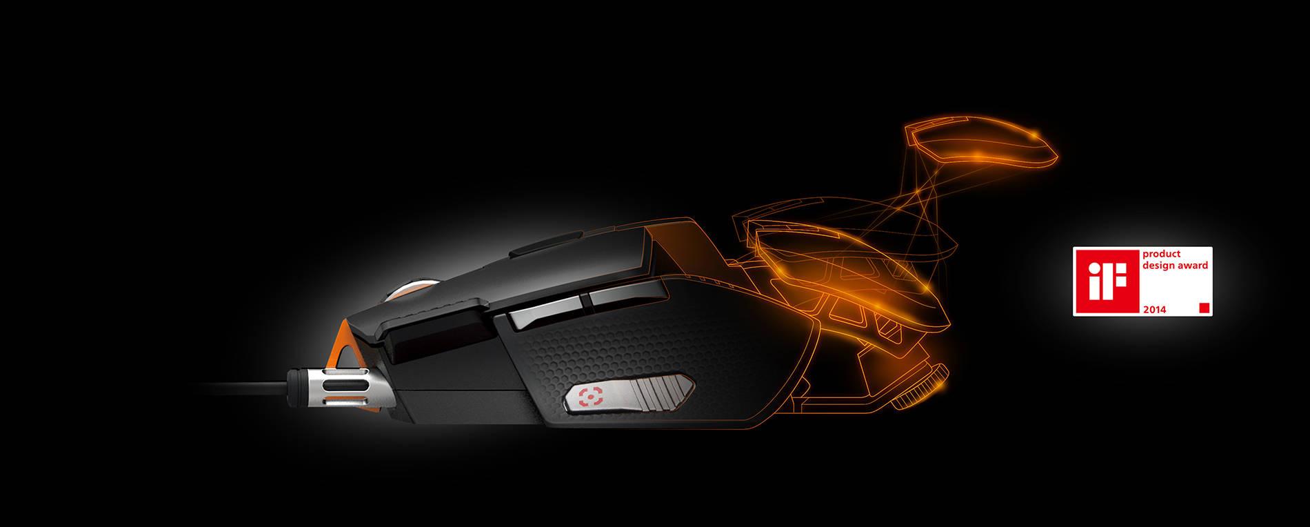Игровая мышка Cougar 700M Superior. Фото 2