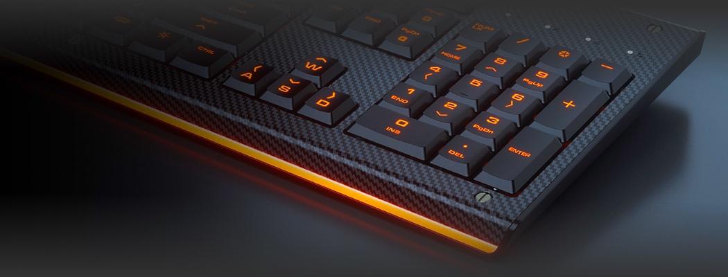 клавиатура светится во тьме