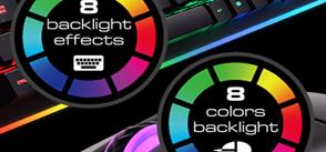 Восьмицветная подсветка