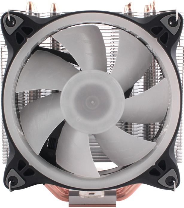 120-мм вентилятор с лопастями в форме акульих плавников