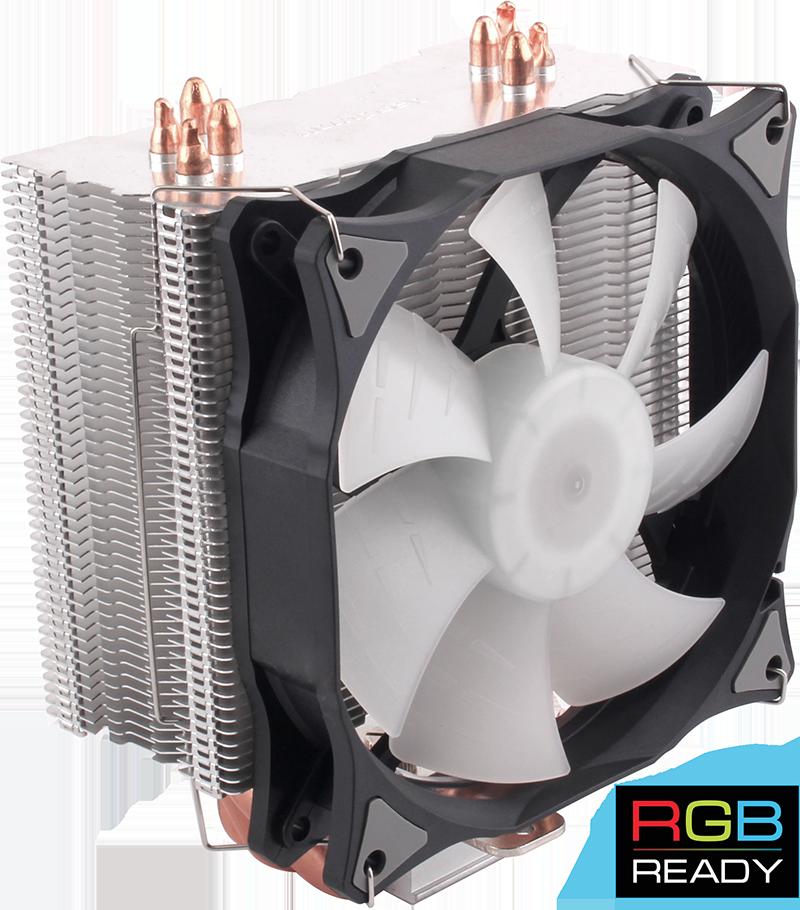 120-мм вентилятор с RGB подсветкой