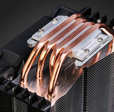 4 медных теплопровода