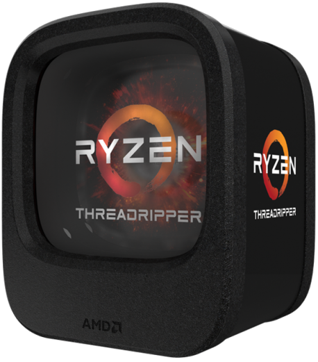 AMD Ryzen Threadripper в упаковке