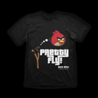 Angry Birds T-Shirt Pretty Fly