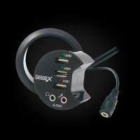 USB-хаб Desk Grand-X DH-60XDC
