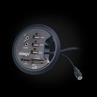 USB-хаб Desk Grand-X DH-80XDC