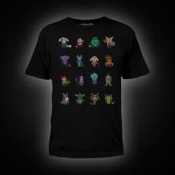 Dota 2 Heroes Pixelbatch T-Shirt S Black