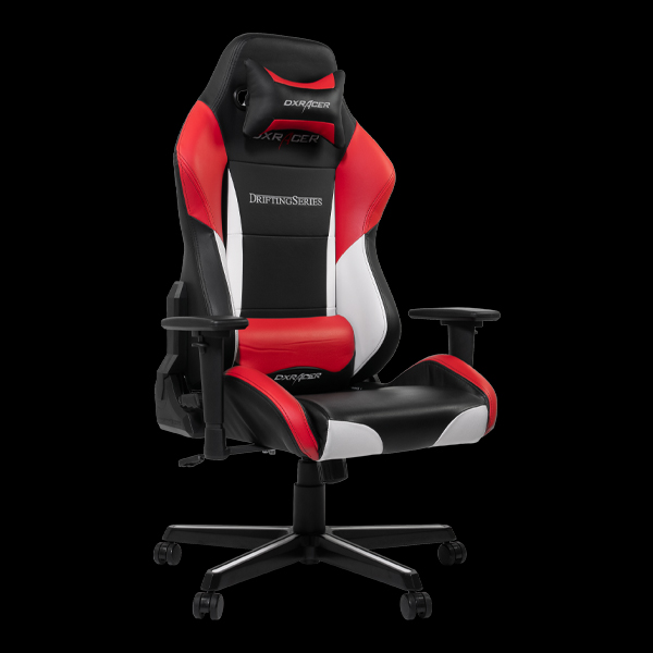 DXRacer Drifting OH/DM61/NWR Black/White/Red цена