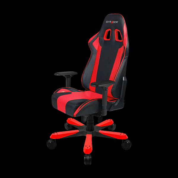 DXRacer King OH/KS06/NR Black/Red цена