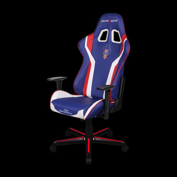 DXRacer Formula OH/FL186/IWR Blue/White/Red купить