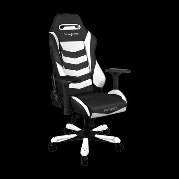 DXRacer Iron OH/IS166/NW Black/White фото