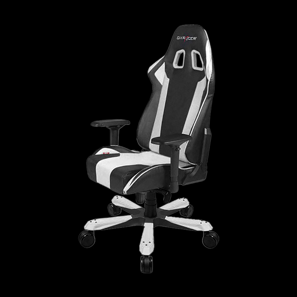 DXRacer King OH/KS06/NW Black/White купить