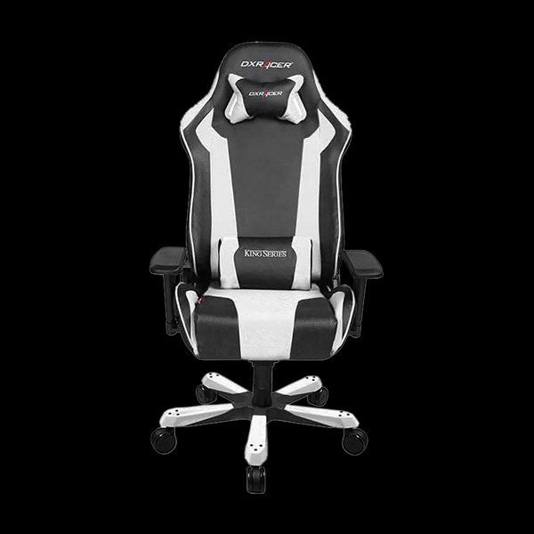 DXRacer King OH/KS06/NW Black/White цена