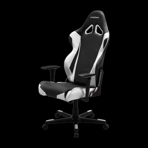 DXRacer Racing OH/RE0/NW Black/White купить