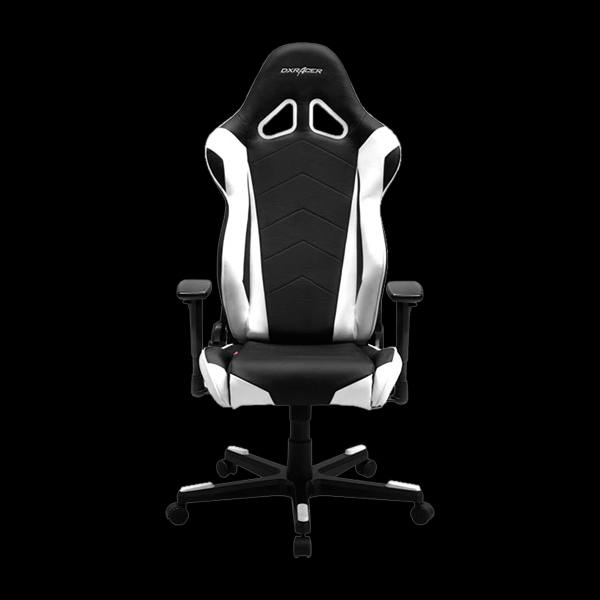 DXRacer Racing OH/RE0/NW Black/White фото
