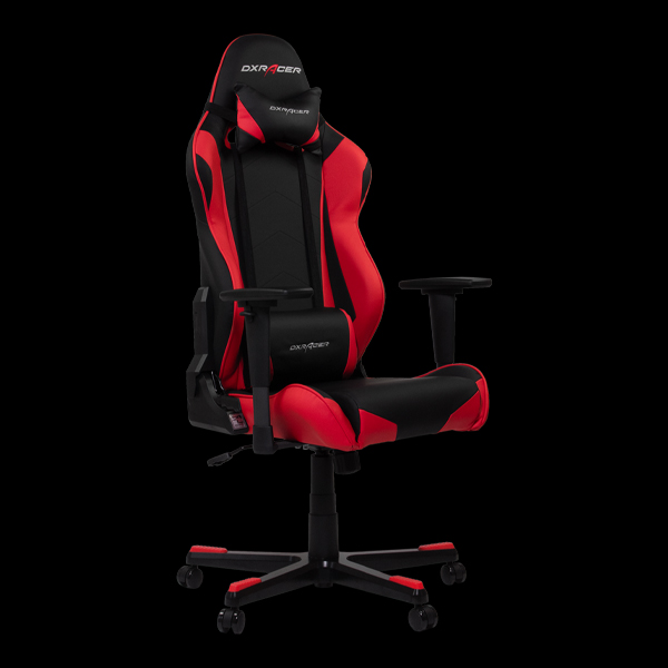 DXRacer Racing OH/RE0/NR Black/Red цена