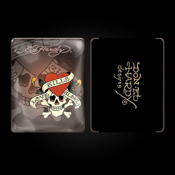 Ed Hardy Chocolate iPad Case купить