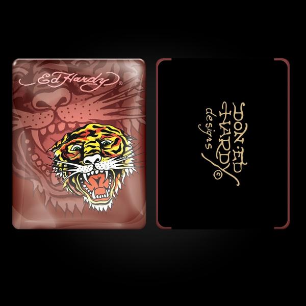 Ed Hardy Maroon iPad Case купить
