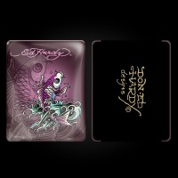 Ed Hardy Plum iPad Case
