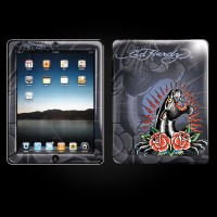 Ed Hardy Royal Blue iPad Skin
