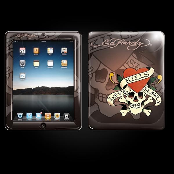 Ed Hardy Chocolate iPad Skin купить