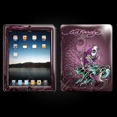 Ed Hardy Plum iPad Skin купить