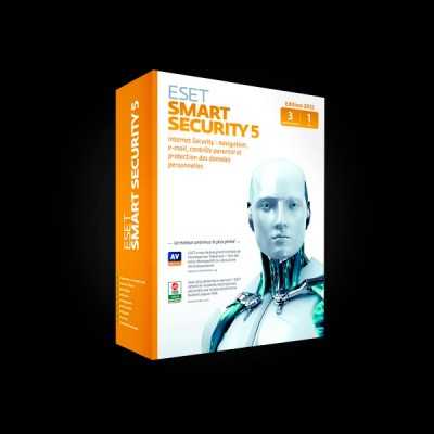 ESET NOD32 Smart Security 5 2Dt 1 year
