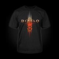 Diablo III T-Shirt Face Logo