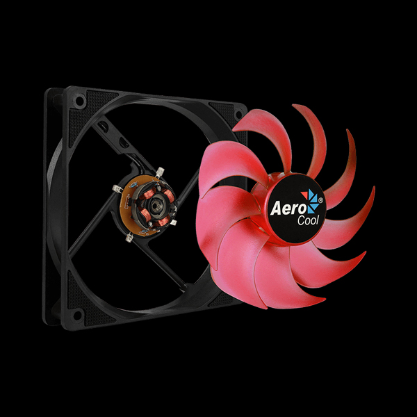 Aerocool Motion 12 Plus Red LED фото